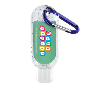 1.9 oz. Moisture Bead Sanitizer with Carabiner