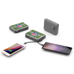 PowerTrek : Portable Charger with Built-in Cables